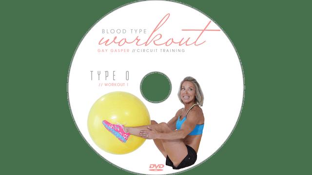 Blood Type Workout - O - Circuit Training