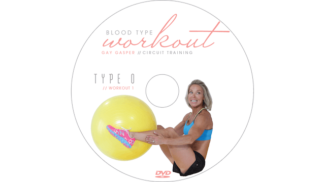 Blood Type Workout - O - Circuit Training