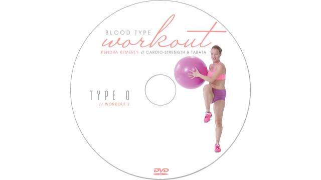 Blood Type Workout - O - Cardo Strength and Tabata
