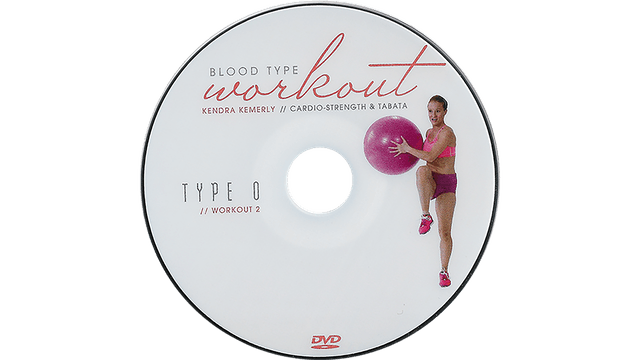 Blood Type Workout - O - Cardio and Tabata