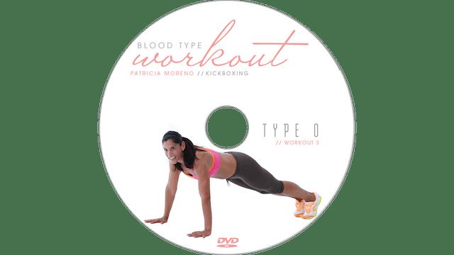 Blood Type Workout - O - Kickboxing 