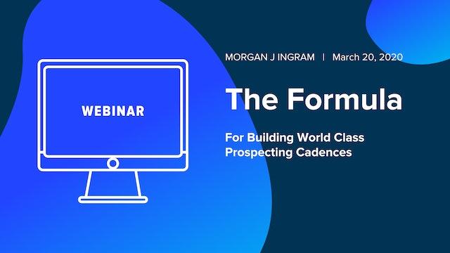 The Formula For Building World Class Prospecting Cadences