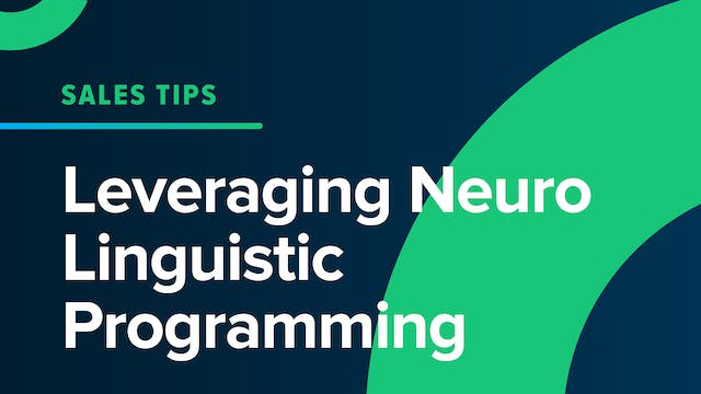 Leveraging Neuro Linguistic Programming