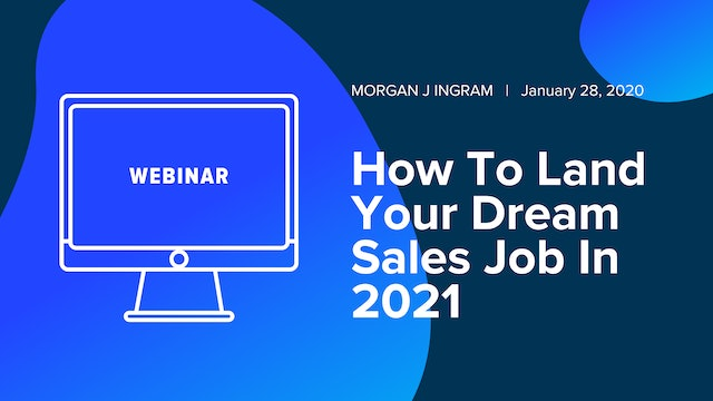 How to Land Your Dream Sales Job in 2021