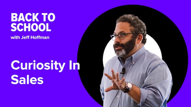 [Hoffman Clips] Curiosity In Sales