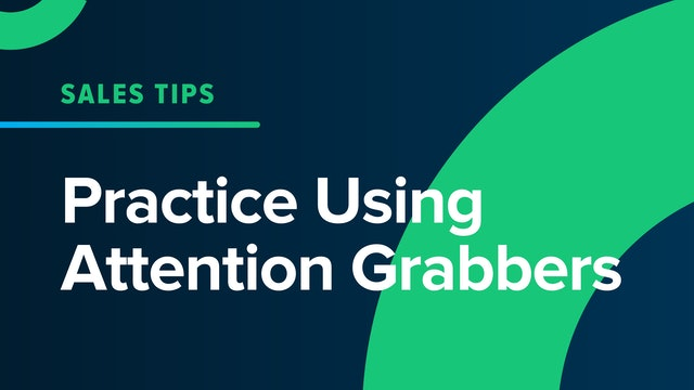 Practice Using Attention Grabbers