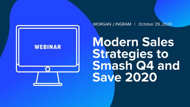 Modern Sales Strategies to Smash Q4 a...