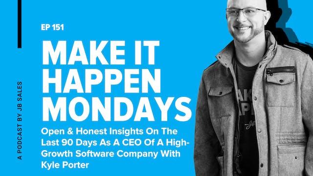 Ep. 151: Kyle Porter - Open & Honest ...