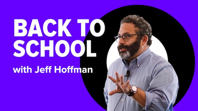 Back to School with Jeff Hoffman