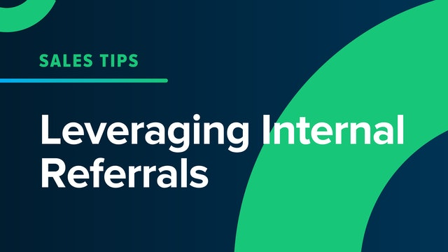 Leveraging Internal Referrals