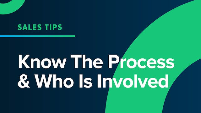 Know The Process & Who Is Involved