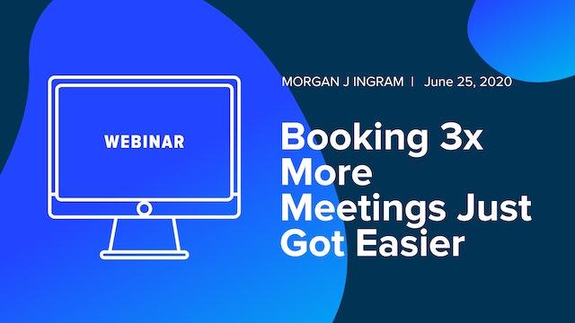 Booking 3x More Meetings Just Got Easier