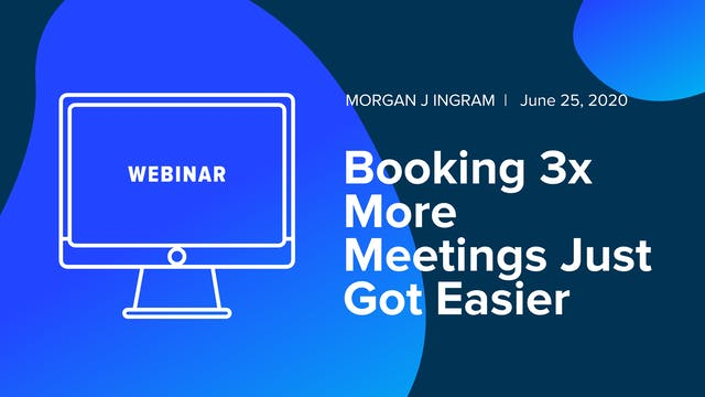 Booking 3x More Meetings Just Got Easier