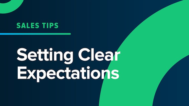 Setting Clear Expectations