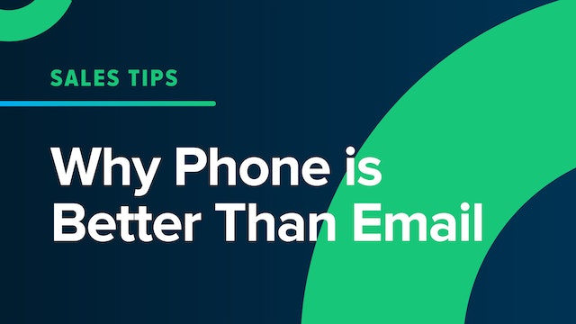 Why Phone is Better Than Email