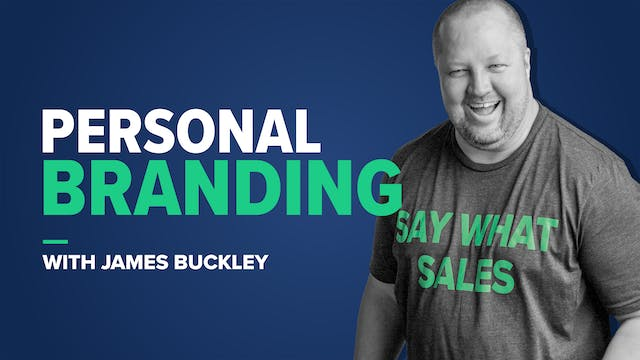 Personal Branding with James Buckley