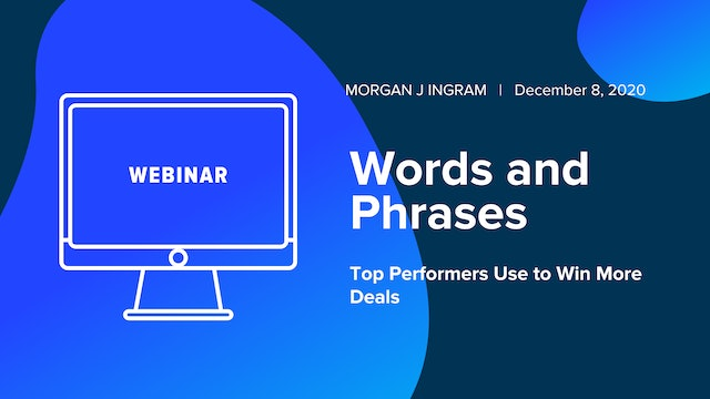 Words and Phrases Top Performers Use to Win More Deals