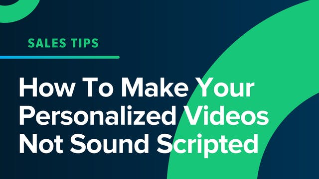 How To Make Your Personalized Videos ...