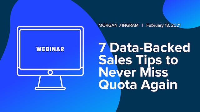 7 Data-Backed Sales Tips to Never Mis...