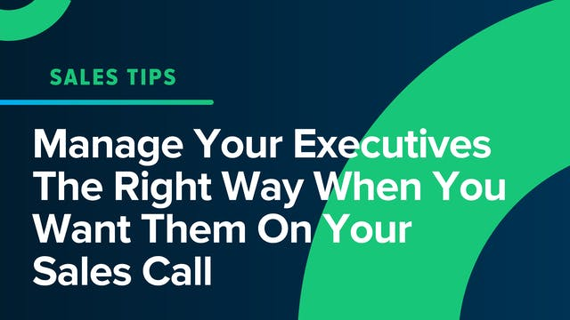 Manage Your Executives The Right Way ...