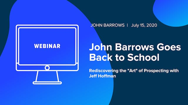John Barrows Goes Back to School: Red...