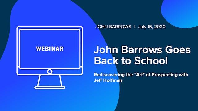 John Barrows Goes Back to School: Red...