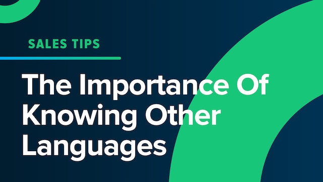 The Importance Of Knowing Other Languages