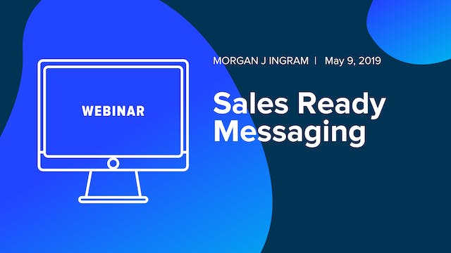 Sales Ready Messaging