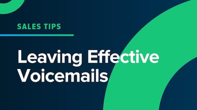 Leaving Effective Voicemails