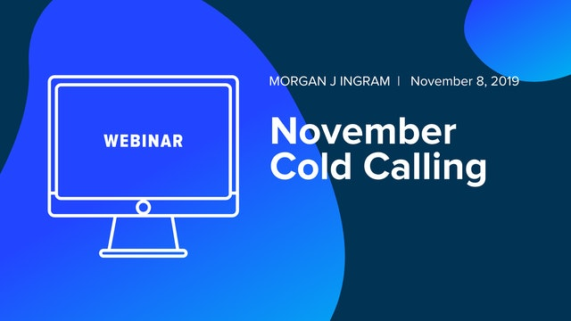November Cold Calling