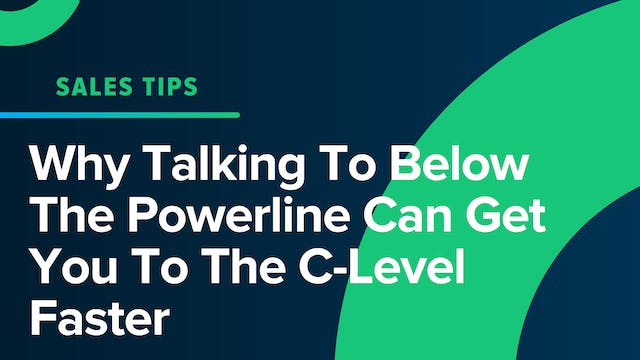 Why Talking To Below The Powerline Ca...