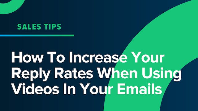 How To Increase Your Reply Rates When...