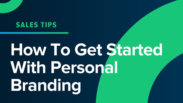 How To Get Started With Personal Branding