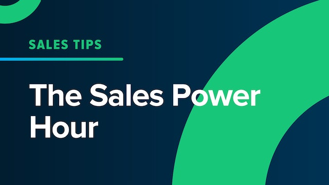 The Sales Power Hour