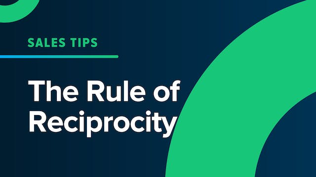 The Rule of Reciprocity