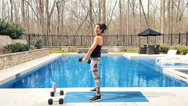 20-Minute Total Body Dumbbell Workout (Compound Movements)