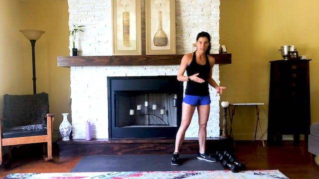 4-3-2-1 Cardio Strength Dumbbell Workout