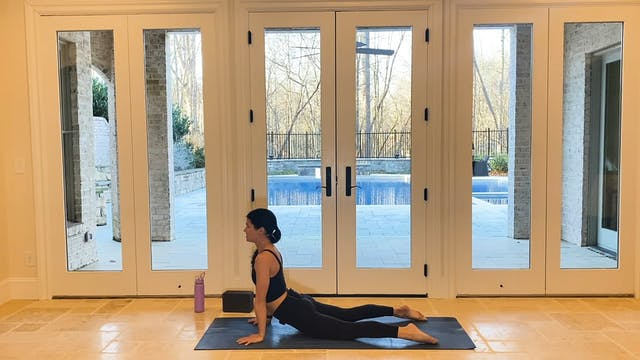 Crow Pose to Chaturanga