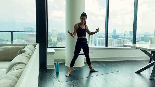 Quick and Intense Bodyweight + Band W...