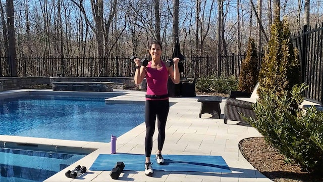 40-Minute Group Exercise Style Total Body Strength