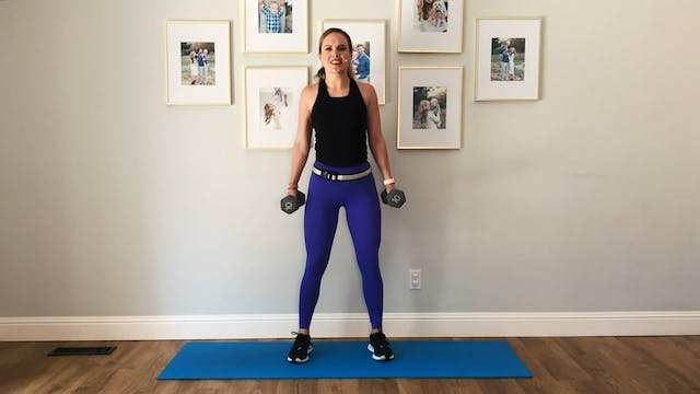 25-minute Full-Body Dumbbell Strength...