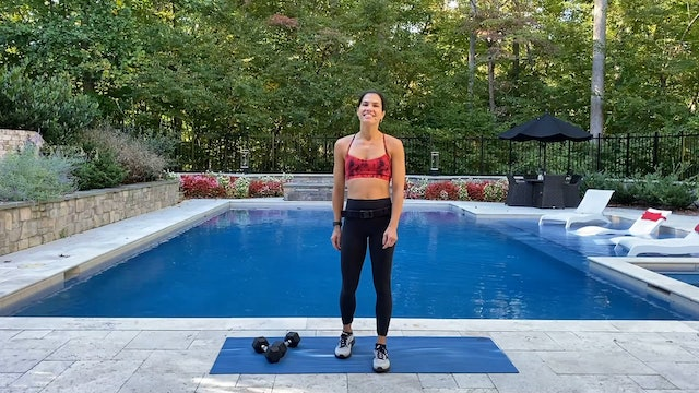 Total Body Dumbbell Superset Workout