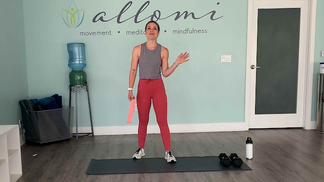 18-Minute Lower Body Strength + HIIT