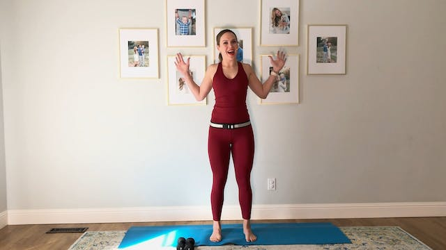15-minute Arms with Light Weights