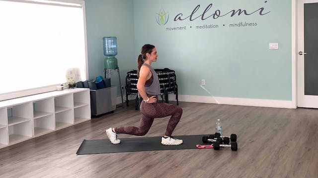 Lower Body Strength Workout