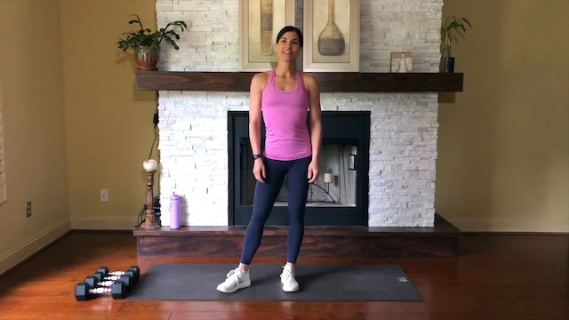 Upper Body + Abs Dumbbell Workout