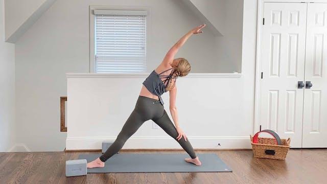 Intro to Power Yoga: Class Two - Foun...