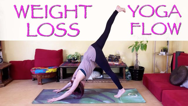 Intense Yoga Flow for Weight Loss