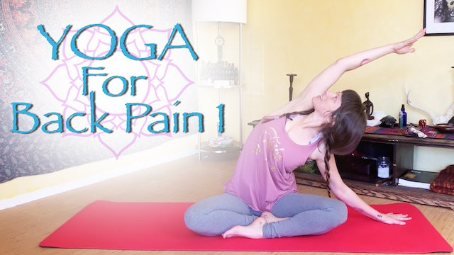 Yoga for Back Pain - part 1