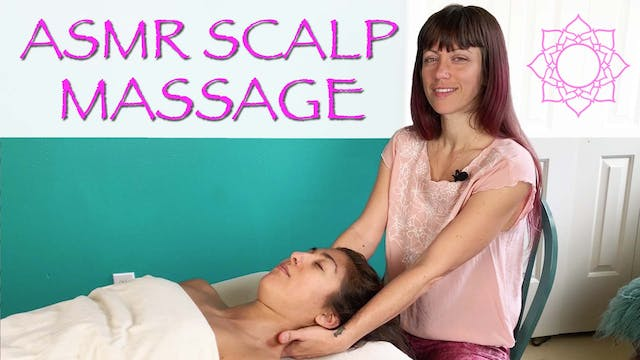 ASMR Head and Scalp Massage